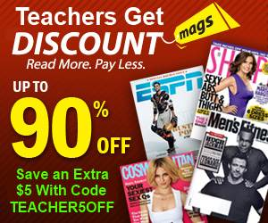 Get a Discount on Magazine Subscriptions!